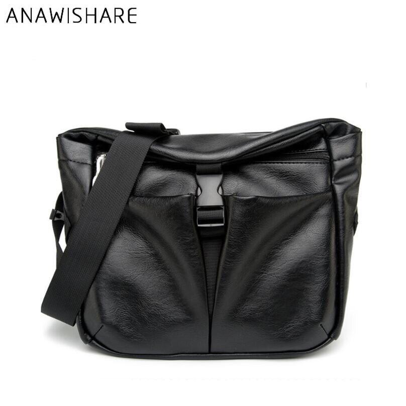 d8bc67b2a2 ANAWISHARE Men Messenger Bags Leather Crossbody Bags For Men Shoulder Bag  Business Men Leather Handbag Bolsa Feminina