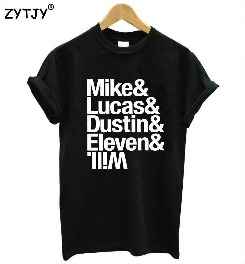 Camiseta Casual de algodón Hipster divertida para mujer con estampado de Michael Luke dust Eleven LLIW nave BA-5
