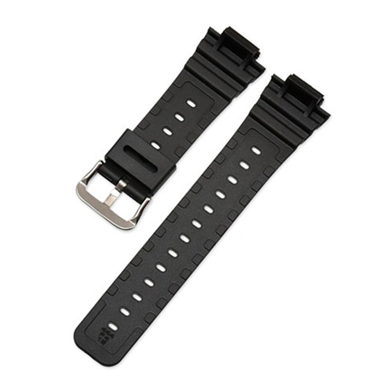 Watchband Wrist Strap Band Slicone Stainless Steel Buckle Adjustable Replacement for 5600 Series <font><b>DW</b></font>-5600E <font><b>DW</b></font>-<font><b>5700</b></font> G-5600 G-<font><b>5700</b></font> image