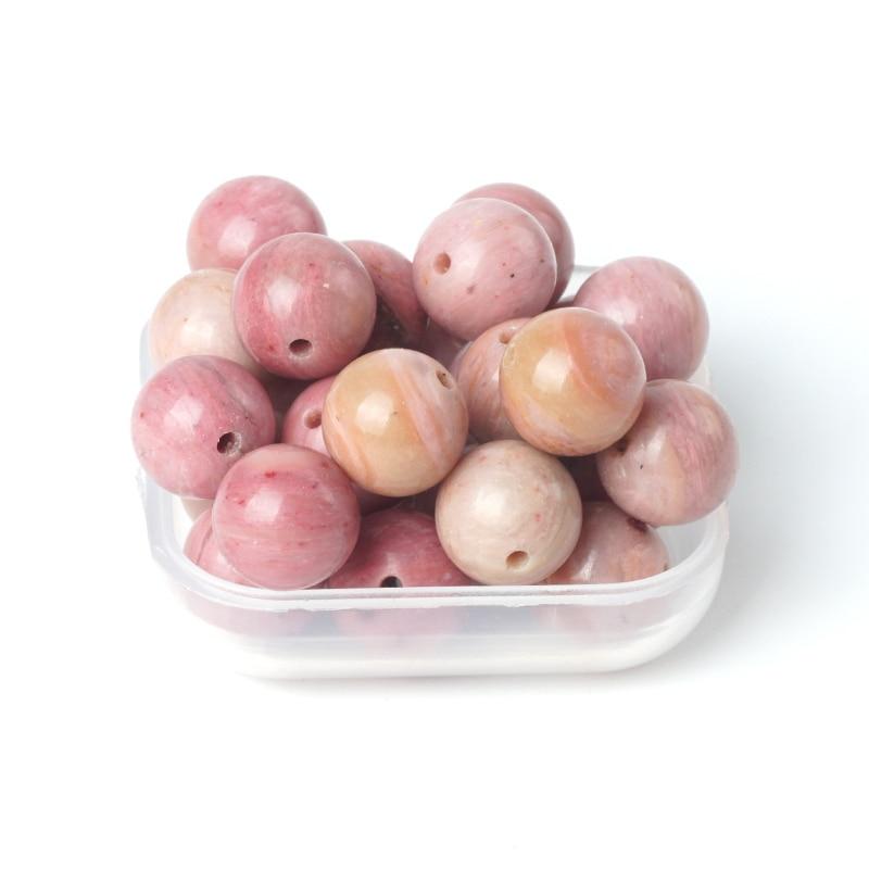 TopGoods Beads Natyrore Gur i Gur i çmuar Rozonite Rozonite Stone - Bizhuteri të bukura - Foto 6