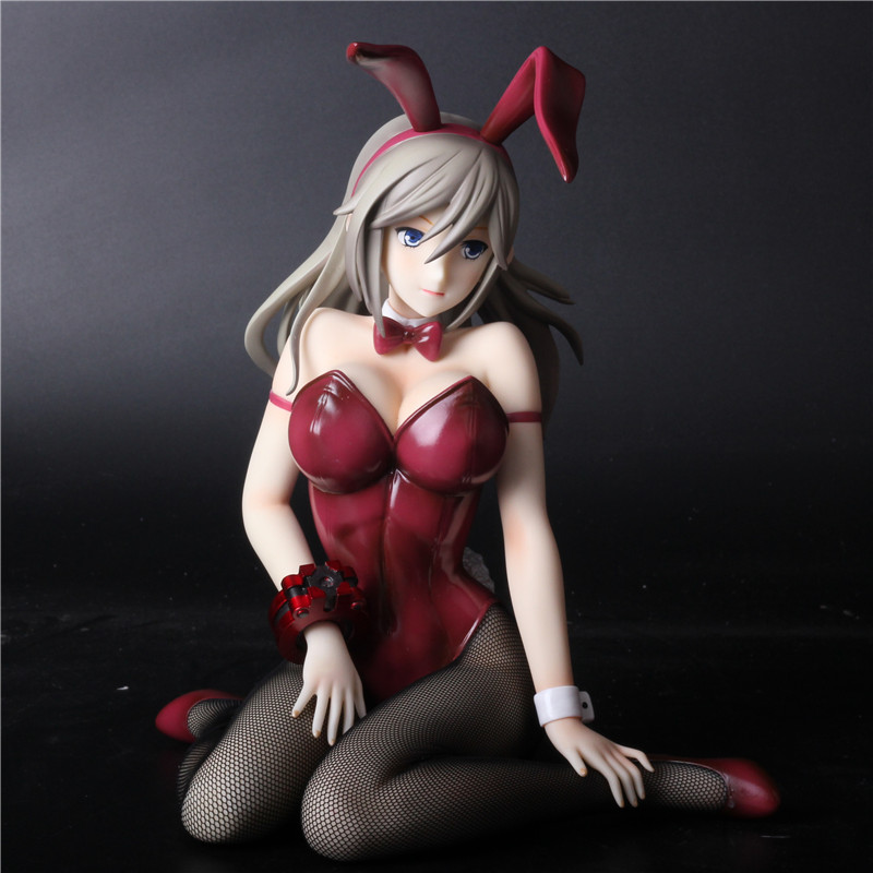 New Arrival Anime Sexy Adult Action Figures GOD EATER2 Sexy Bikini Bunny Girl ver 1/4 GK Resin figures Collection Model toy gift japanese tinker bell festival vol 2 atype sexy adult anime sexy figures collectible model toy retail box w119