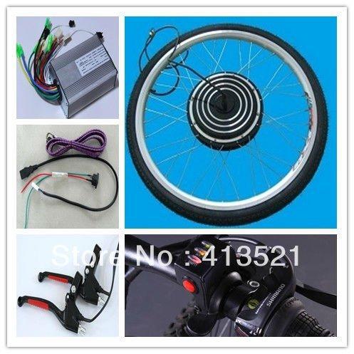 "500w 36v 26"" front  ebike conversion kits,electric bike conversion kits, electric bicycle kits"