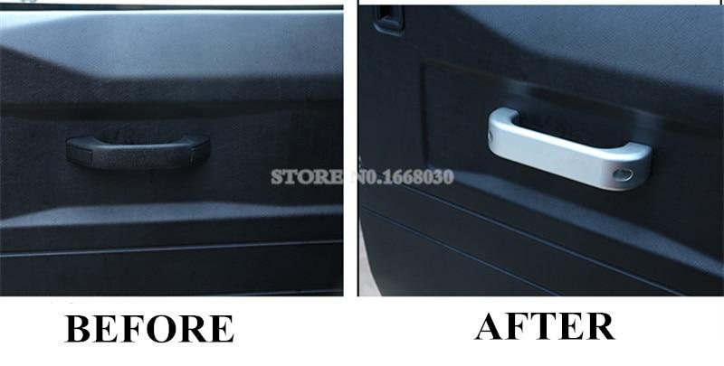 Interior Door Handle Trim 4pcs For Land Rover Defender 110 4dr 2011-2015