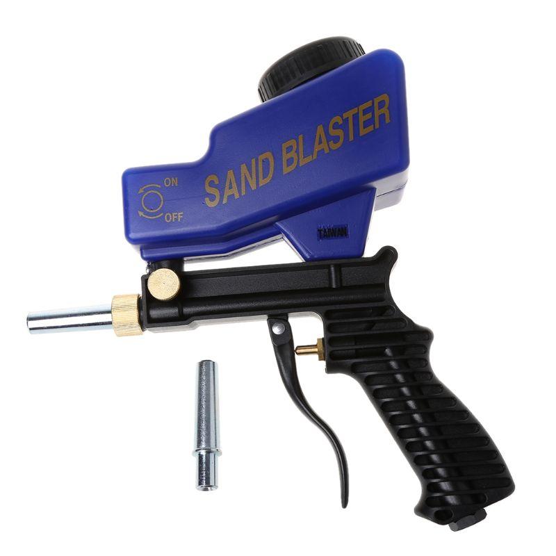 Ensemble pneumatique abrasif portatif de Machine de pistolet de sablage de gravité enlevant le dispositif de dynamitage de rouille de tache
