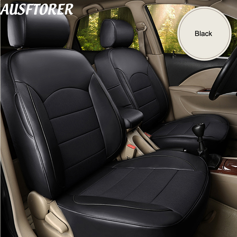 Bmw X6 Seat Covers: AUSFTORER Custom Genuine Leather Cover Seats For BMW X6