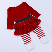 Christmas Long Sleeves Children Clothing Sets