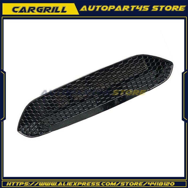 Calandre ABS vernis noir ST grille de recharge grilles de course style automobile pour Ford nouvelle Fiesta 2013 2014 2015