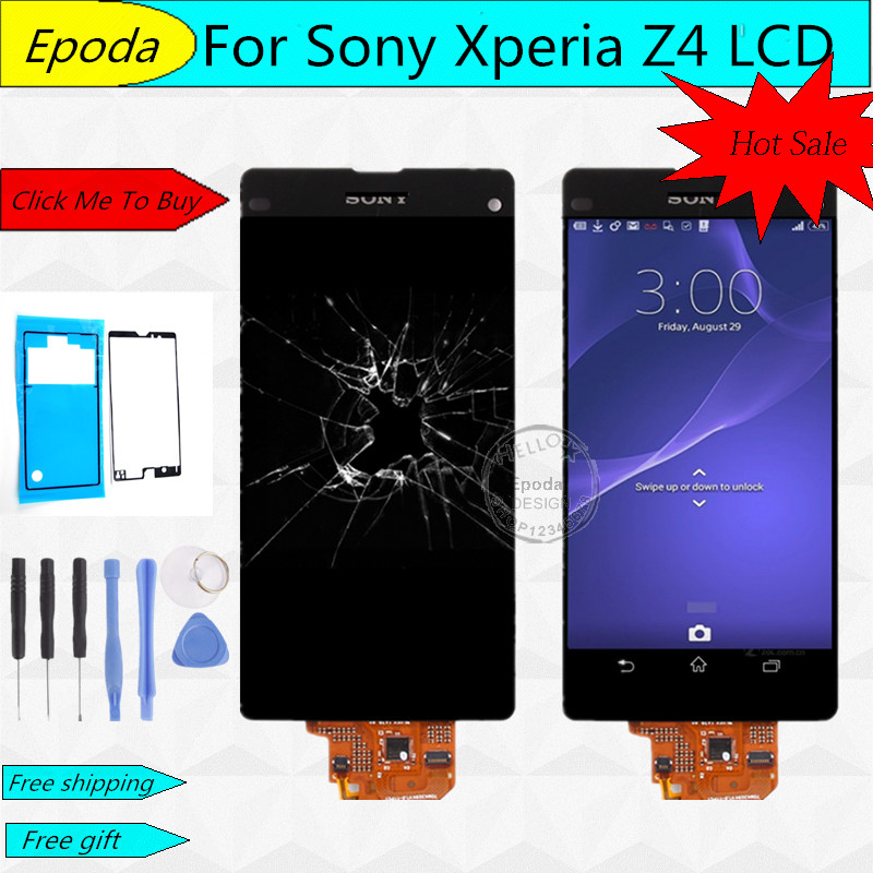 ФОТО LCD Screen For Sony Xperia Z4 Z3 Plus Z3+ E6603 E6533 E6553 LCD Touch Digitizer Screen Assembly +Tools Free Shipping