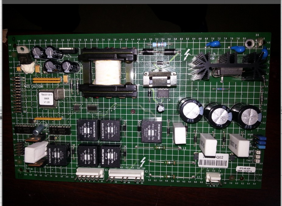 цены  Teardown 308689-Q02 pad inverter PF700 thyristor trigger board/rectifier board/start