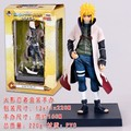 2015 Naruto's father Yondaime Hokage Namikaze Minato 16cm Action Figures Collection Model Doll Toy Anime Cartoons Toys #B
