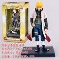 2015 pai de Naruto Namikaze Minato Yondaime Hokage 16 cm Boneca de Brinquedo Modelo Coleção Figuras de Ação Anime Desenhos Animados Brinquedos # B