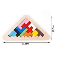 Sihirli Küp Ahşap Tetris Bulmaca 3D Kutusu Oyun Çocuk Oyuncak Ahşap Eğitim Montessori Bulmaca Jouet Bois Bulmacalar Çocuklar Için 60D0019
