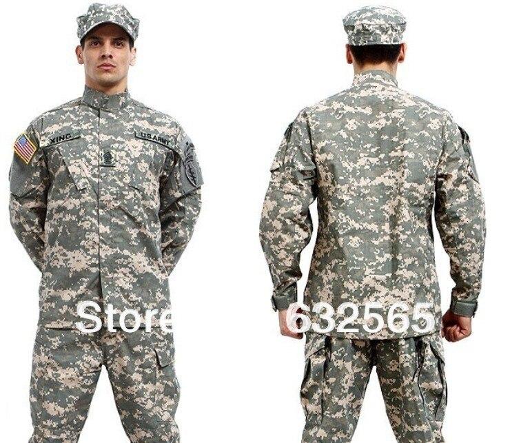 Hot Camouflage Military Battle Dress Suit, COAT + PANT Paintball , Hunting , Combat Suit, BDU Suit