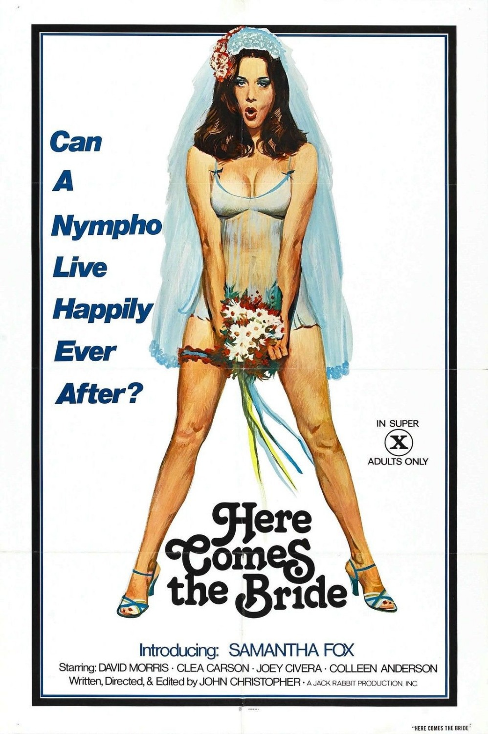 Here Comes The Bride Movie Poster Sex Xxx Exploitation -9133