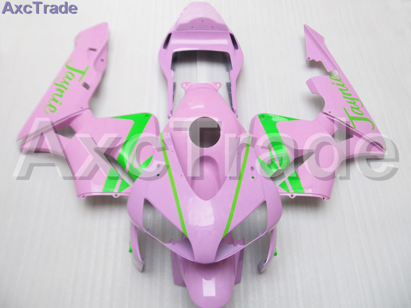 Pink Moto Fairing Kit For Honda CBR600RR CBR600 CBR 600 2003 2004 03 04 F5 Fairings Custom Made Motorcycle Injection Mold C42 gray moto fairing kit for honda cbr600rr cbr600 cbr 600 f4i 2001 2003 01 02 03 fairings custom made motorcycle injection molding