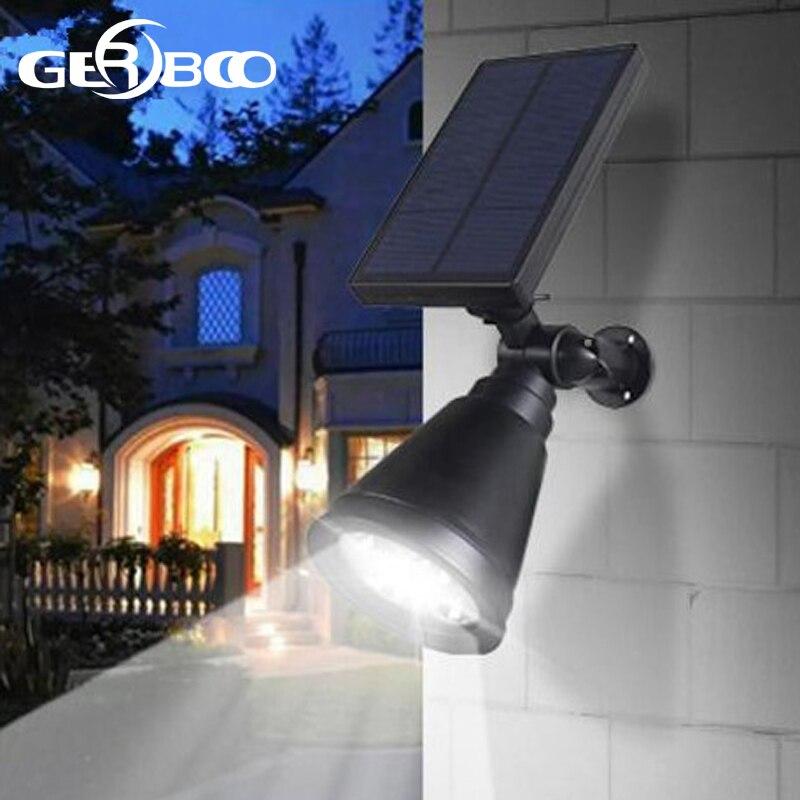 Solar Powered LED Scheinwerfer Weihnachten Licht Im Freien für ...