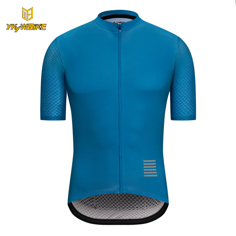 цена на YKYWBIKE Men Cycling Jersey 2018 Short Sleeve MTB Bicycle Clothing High Quality Riding Bike Sportswear Clothes Ropa Ciclismo