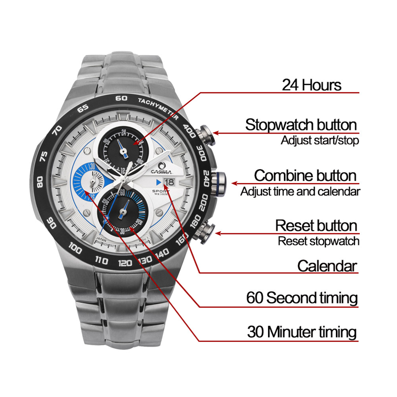 Relogio Masculino Luxury Brand Watch Men Sports Luminous Racing Mens Military Army Quartz Wrist Watch Waterproof 100m Clock 2017