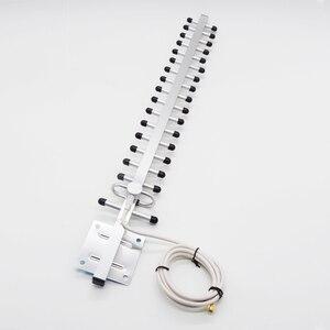 Image 4 - 3グラム4グラム20dbiアンテナ3グラム八木アンテナ3グラム屋外アンテナ4グラムlte外部アンテナsmaオス1.5メートルケーブル用信号リピータブースター