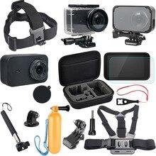 Mijia Self Stick Waterproof Housing Case Field Body Shell Cowl Case Cowl Lens Cap Protector for Xiaomi Mijia 4K Equipment set