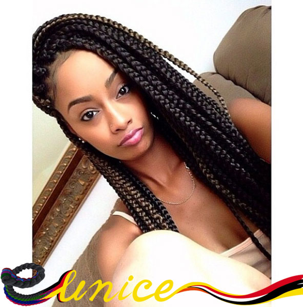 2pcs 24 3x Box Braids Ombre Crochet Twist Hair Senegalese Extensions Jumbo Free Shipping On Aliexpress Alibaba