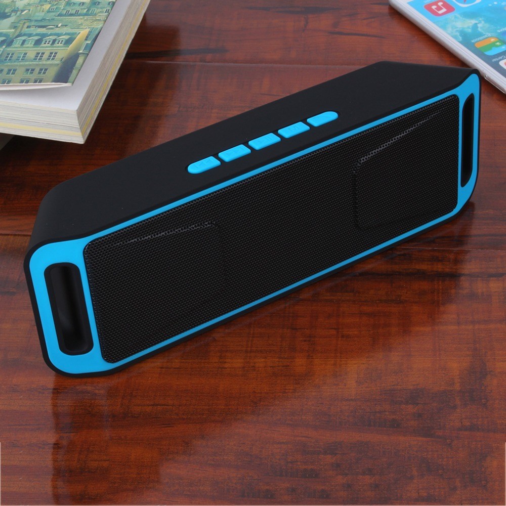 2016 Hand-free Bluetooth Wireless Speaker Portable Heavy Bass w/FM For Smart Phone&Tablets