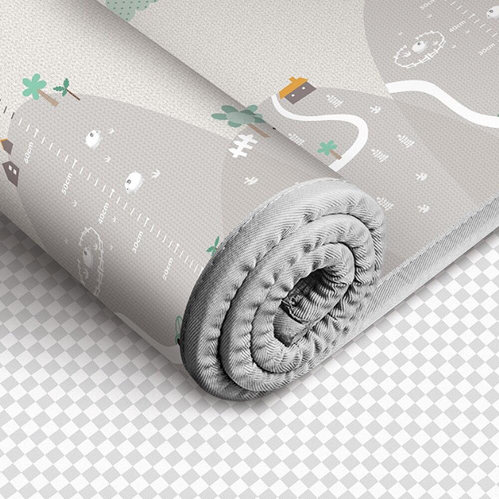 1 cm épaisseur bébé tapis tapis de jeu mousse Puzzle tapis enfant en bas âge ramper tapis de jeu couverture infantile nouveau 200*180 cm Tapete Infantil