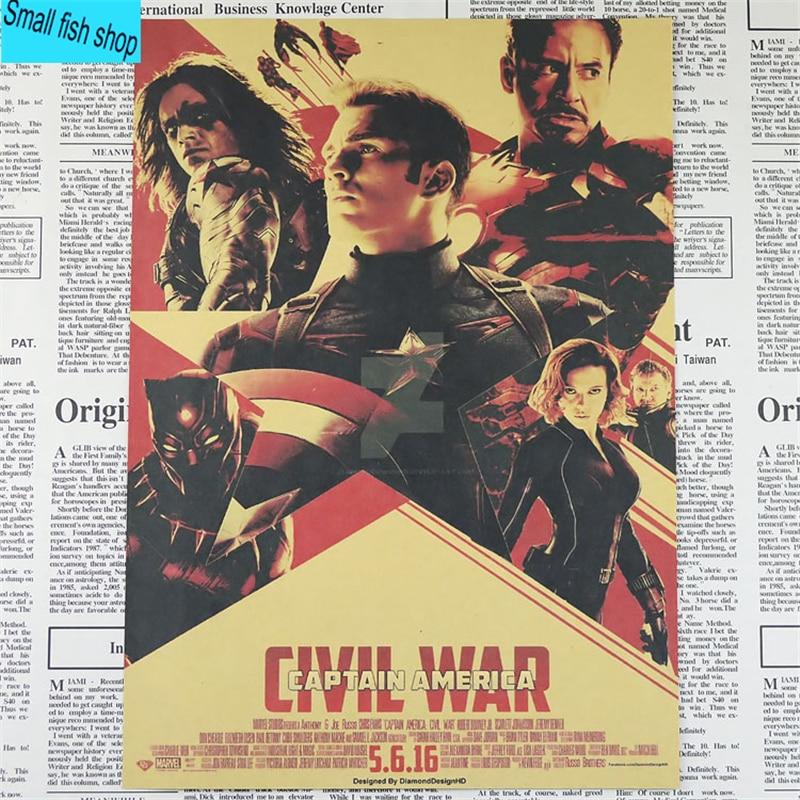 Капитан Америка Жинағы Iron Man spider man - Үйдің декоры - фото 4