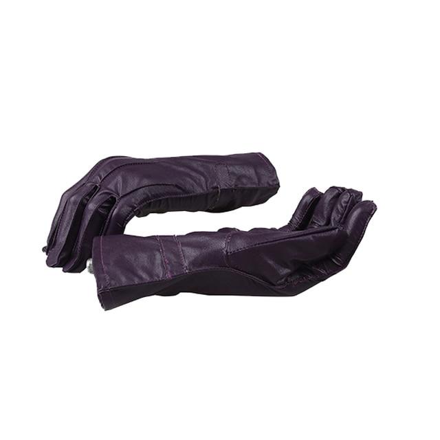 96117fad5a623 CostumeBuy Batman The Dark Knight Joker Cosplay Gloves Men Costumes Joker  Purple Gloves PU Leather Halloween