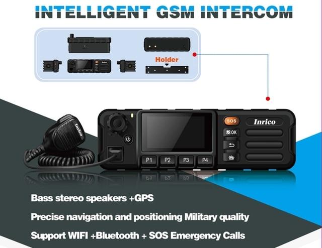TM 7 החדש GSM WCDMA רכב רדיו עם מגע מסך משדר רכב Mouted נייד רדיו