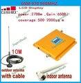 Display LCD GSM 900 Mhz Mobile Phone Signal Booster, GSM970 Repetidor de Sinal, Amplificador Telefone celular Com Cabo + Antena