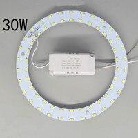 Granos de la lámpara LED placa de luz luz de techo redonda led granos de la lámpara de reemplazo de mantenimiento de ahorro de energía fuente de luz parche