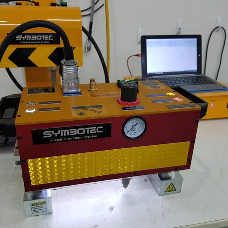 Toyota Vin Metal Cnc Dot Peen Marking Machine Portable Date Marking Machine