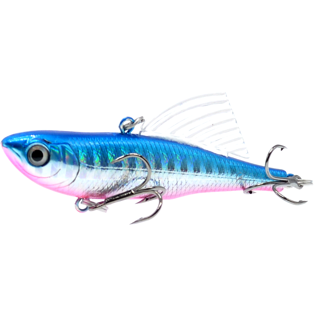 Image 4 - WLDSLURE 14.5g/65mm Sinking Vibration Fishing Lure Hard Plastic Artificial VIB Winter Ice Jigging Pike Bait Tackle Isca Peche-in Fishing Lures from Sports & Entertainment
