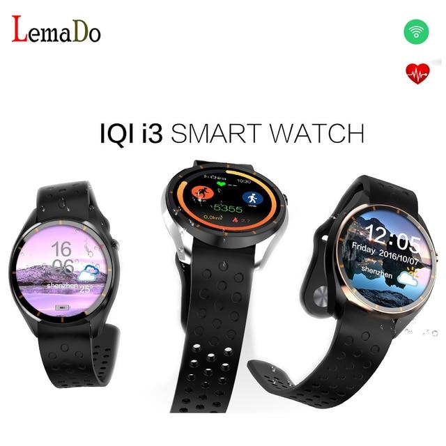 ИИК I3 Android 5.1 3 Г Smartwatch Телефон MTK6580 1.3 ГГц Quad Core RAM 512 МБ + ROM 4 ГБ Шагомер WiFi GPS Smart Watch PK LEM5