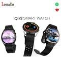 Iqi i3 android 5.1 3g teléfono smartwatch mtk6580 1.3 ghz quad core ram 512 mb + rom 4 gb podómetro wifi gps smart watch pk lem5