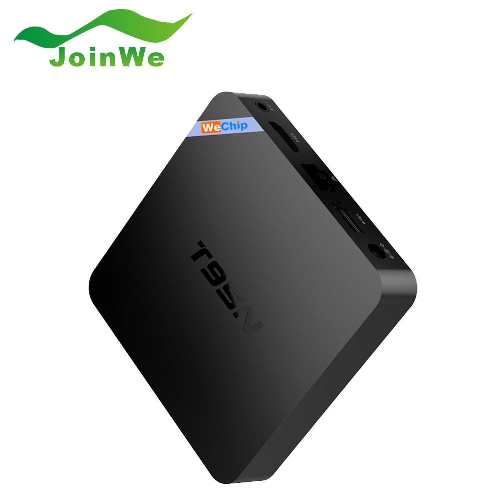 ФОТО Original WeChip T95N Smart TV Box Android 6.0 2G 8G Amlogic S905X Quad Core Wifi Set Top Box Mini M8Spro