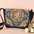 Vintage Embroiery Bag Chinese Ethnic Boho national embroidered Retro Canvas women 's shoulder messenger bag Women Travel Handbag