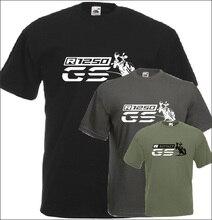 R 1250 Gs T Shirt Fãs de Motocicletas Motorrad Novo 2019 Moda Verão de Algodão Homens de Manga Curta de Impressão O Neck Camisetas