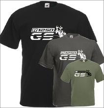 R 1250 Gs T Shirt Motorrad Fans Motorräder Neue 2019 Mode Sommer Baumwolle Männer Kurzarm Druck Oansatz T Shirts