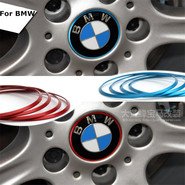 Car Decal Wheel Center Hub Caps Rim Caps Auto Stickers Car