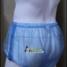 Взрослый ребенок недержание пластиковые брюки P004-6T, Размер: M/L/XL/XXL