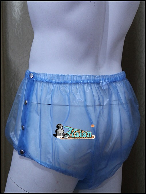 ADULT BABY Incontinence PLASTIC PANTS P004-6T,Size:M / L / XL / XXL