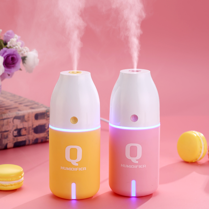 ejoai USB Mini Humidifier Ultrasonic Humidifier Air Aroma Diffuser Mist Maker Atomization Essential Oil diffuser of Home and Car