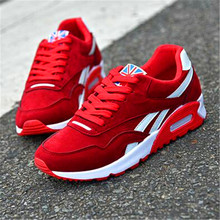 2019 suede cushion running breathable all seasons casual fashion mens shoes