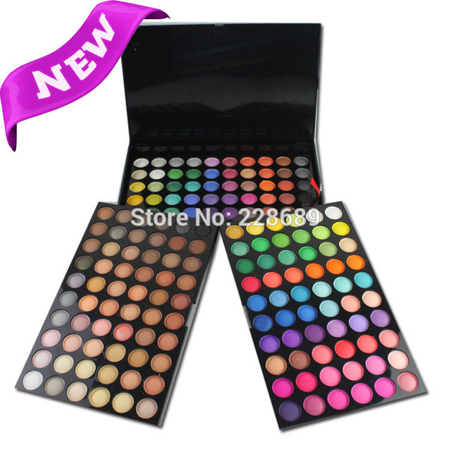 "50pcs free shipping DHL 180 colors shade ""makeup make-up shimmer palette palette shadow matte makeup"""