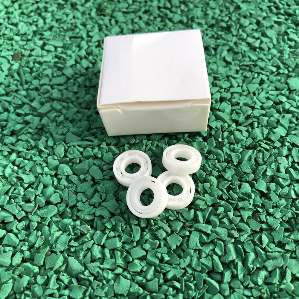 4pcs/10pcs 696 ZrO2 Full Ceramic Ball Bearing  6x15x5 Mm Zirconia Ceramic Bearings 6*15*5