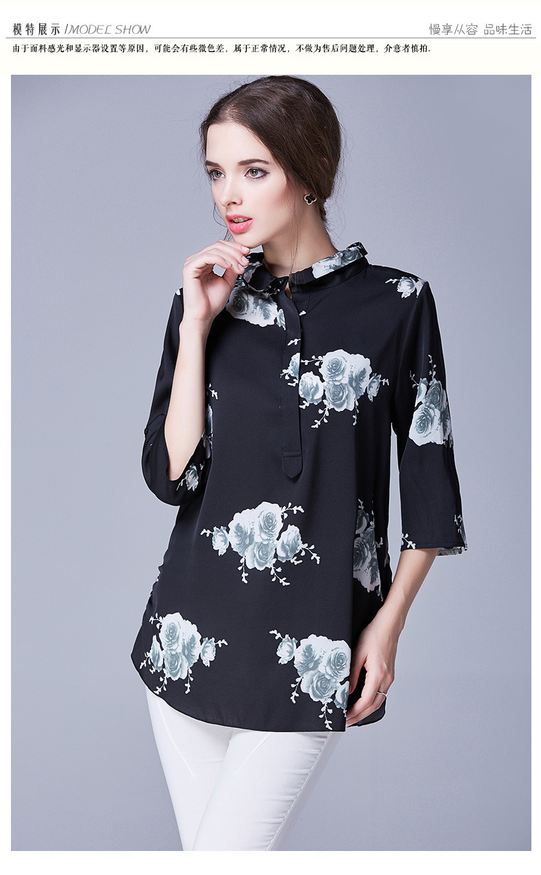 Moyen Long Spécial En Mode T Vente Soie Multi shirt HqwRd