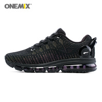 ONEMIX Men Running Shoes For Women Black Cushion Shox Athletic Trainers Music III Sports Max Breathable Outdoor Walking Sneakers