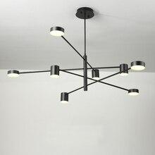 Led lustre éclairage pour salon salle à manger chambre Lustres luminaires Luminaire moderne Restaurant Lustres lumières